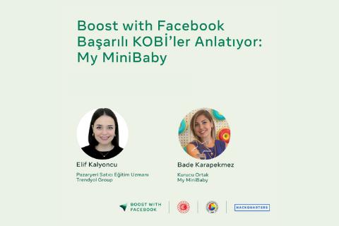 My Mini Baby kurucusu Bade Karapekmez ile bu keyifli sohbette e-ticarette başarılı olma hikayesini dinleyebilirsiniz.
