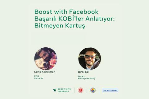 Bitmeyen Kartuş'dan Birol Çil ile bu keyifli sohbette Facebook ticaret partneri IdeaSoft araçlarını kullanarak nasıl başarıya eriştiğini izleyebilirsiniz!