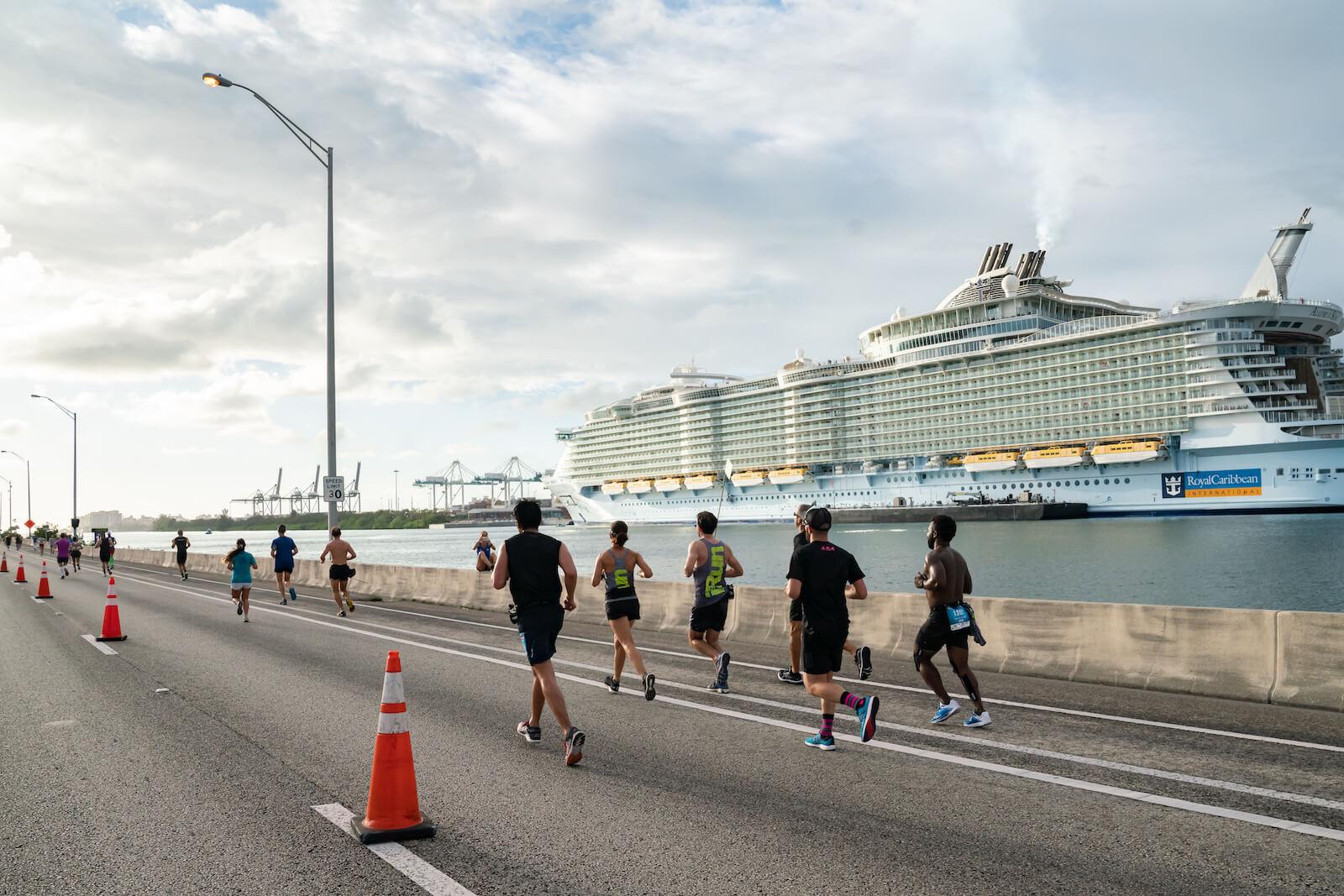 #VirtuallyMiamiFamous wired by the Life Time Miami Marathon & Half Marathon presented by cbdMD