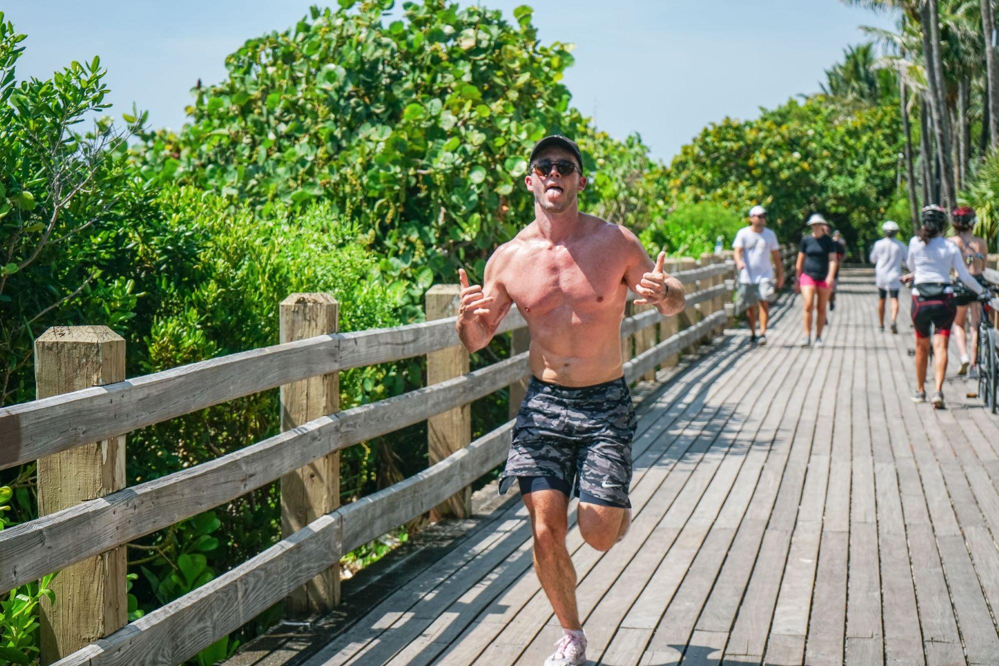 Running in Miami