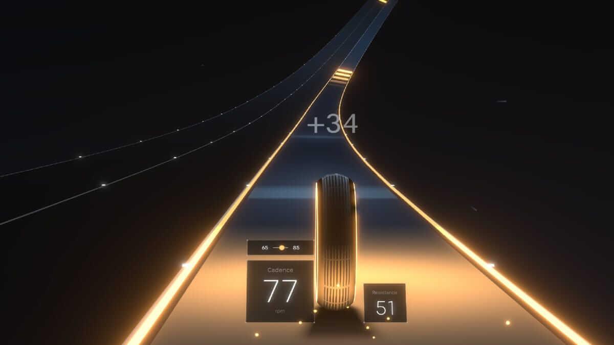 Peloton Lanebreak Video Game