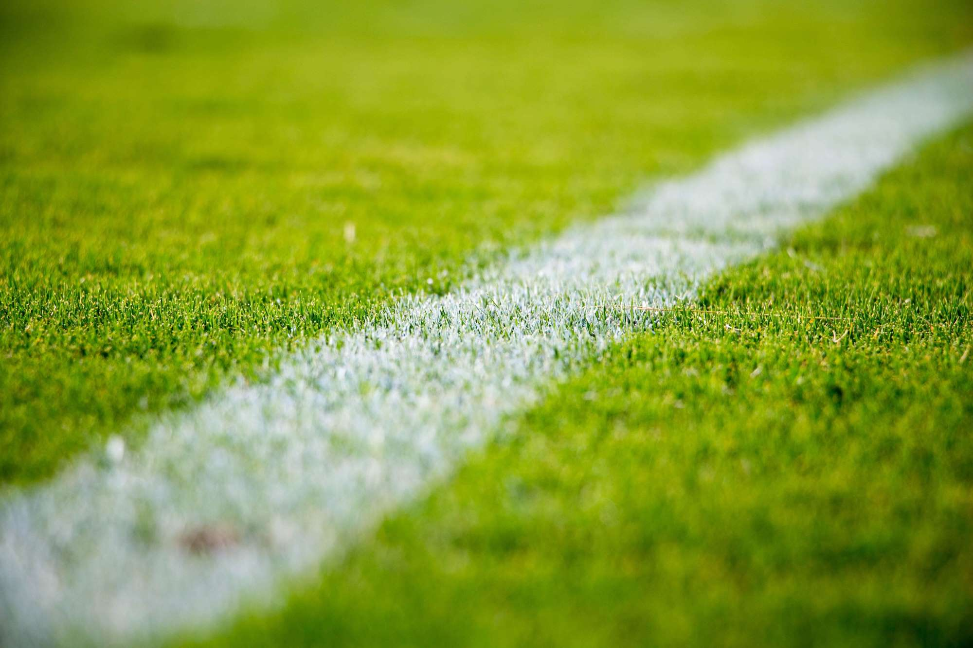 Soccer Foul Line on Turf