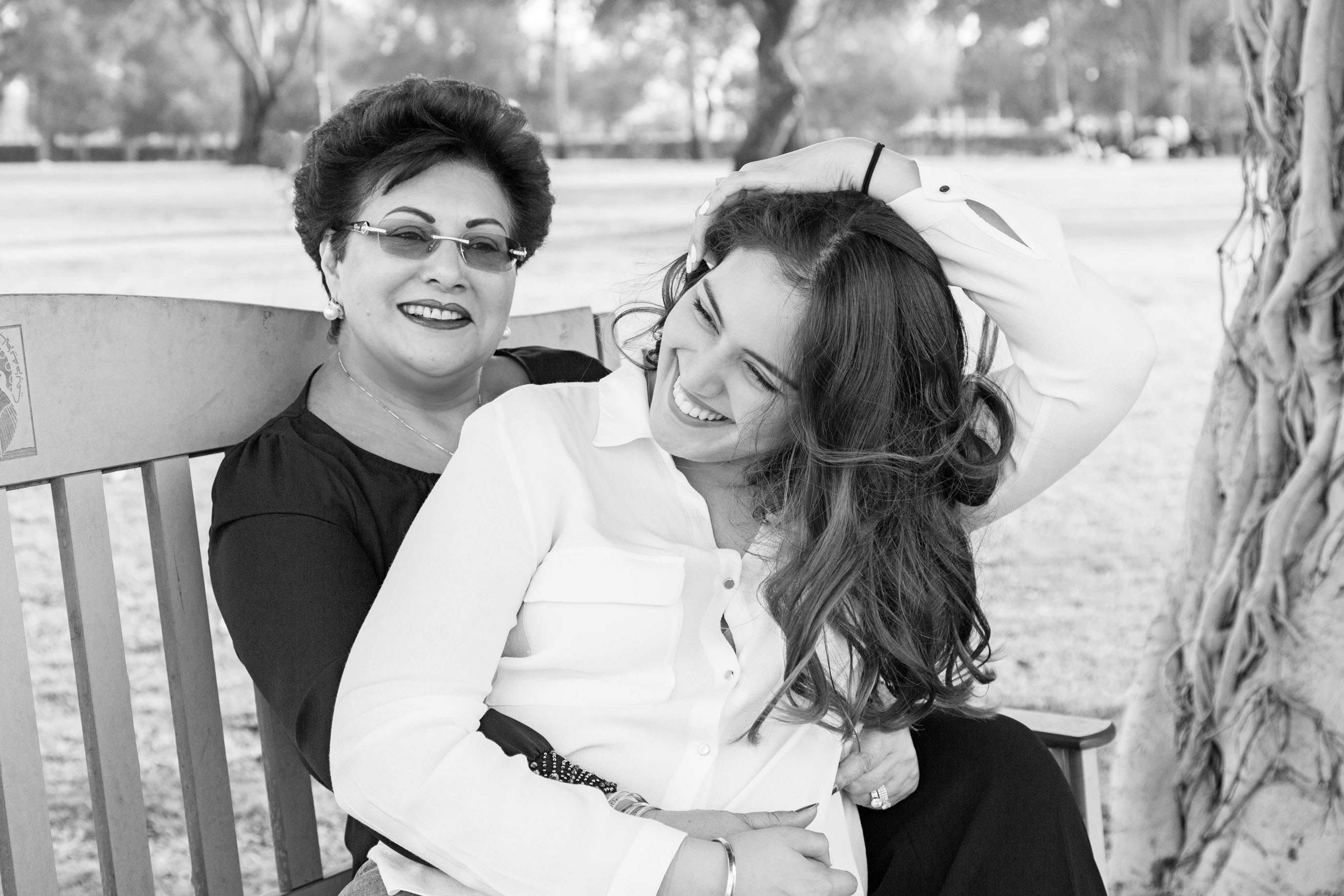 Azalea Blooms Saskia Sharon Singh Image - mother daughter photography