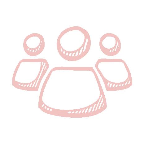 Azalea Blooms Watermark Our Team Pink