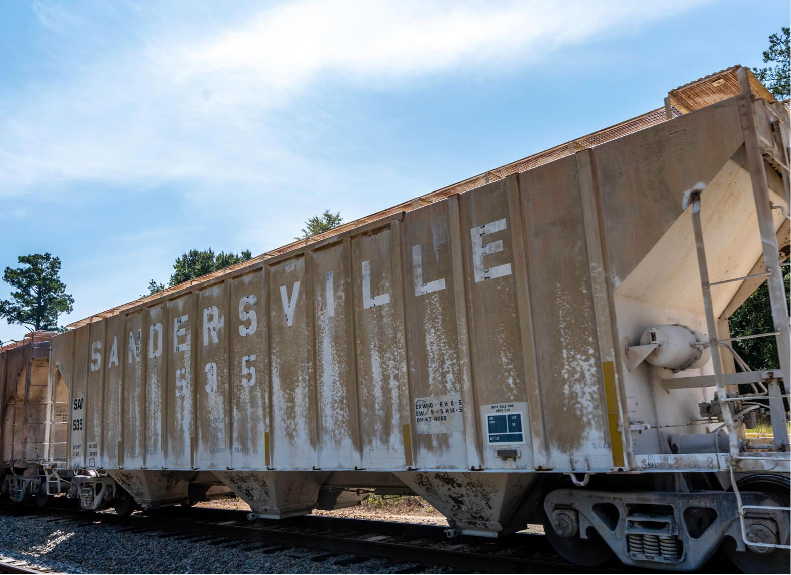 Sandersville Railroad Company railcar