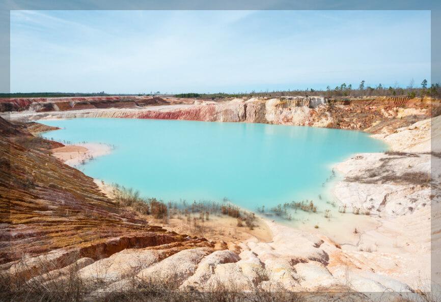 Georgia kaolin mine