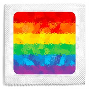 Custom Pride Condoms Swag