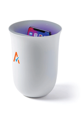 Custom lexon oblio wireless charging sanitization