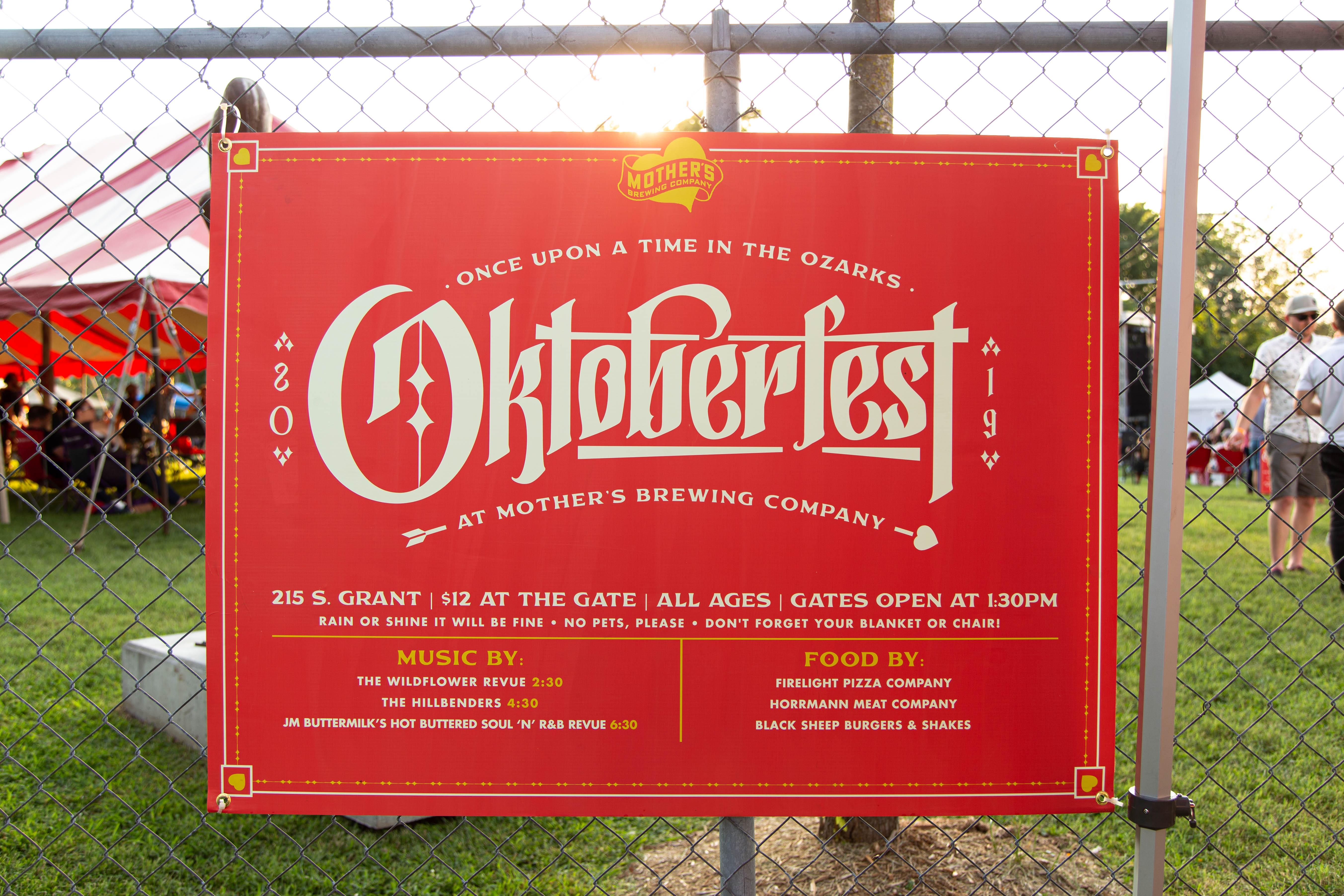 Event Brand Design & Illustration - Mother's Oktoberfest