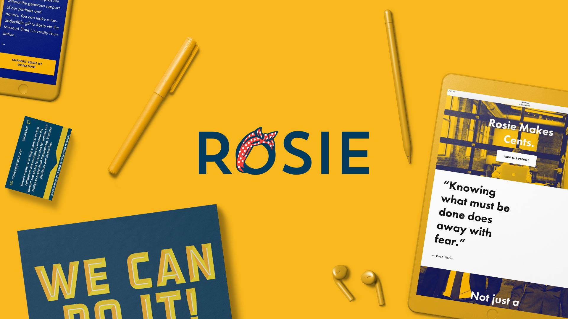 Brand Design & Strategy | Rosie Springfield, MO