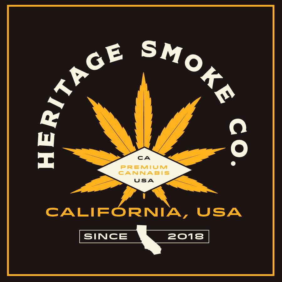 Dispensary Logo Design Heritage Smoke Co.