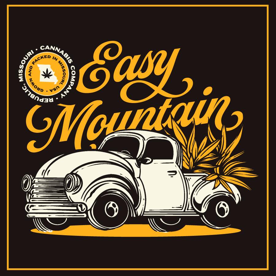 Dispensary Branding for Easy Mountain Cannabis Company