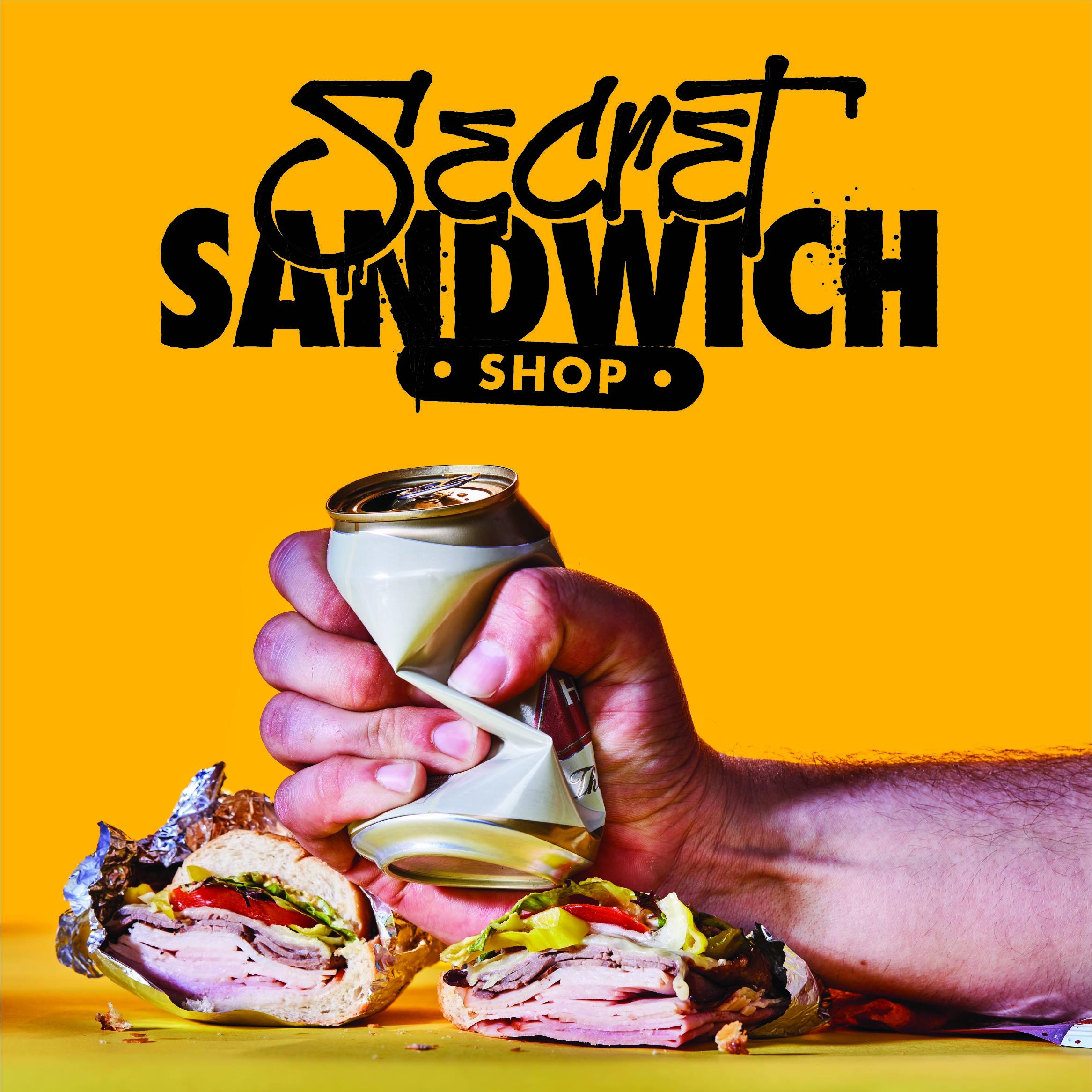 Secret Sandwich Shop Brand Design | Fried Design Co.