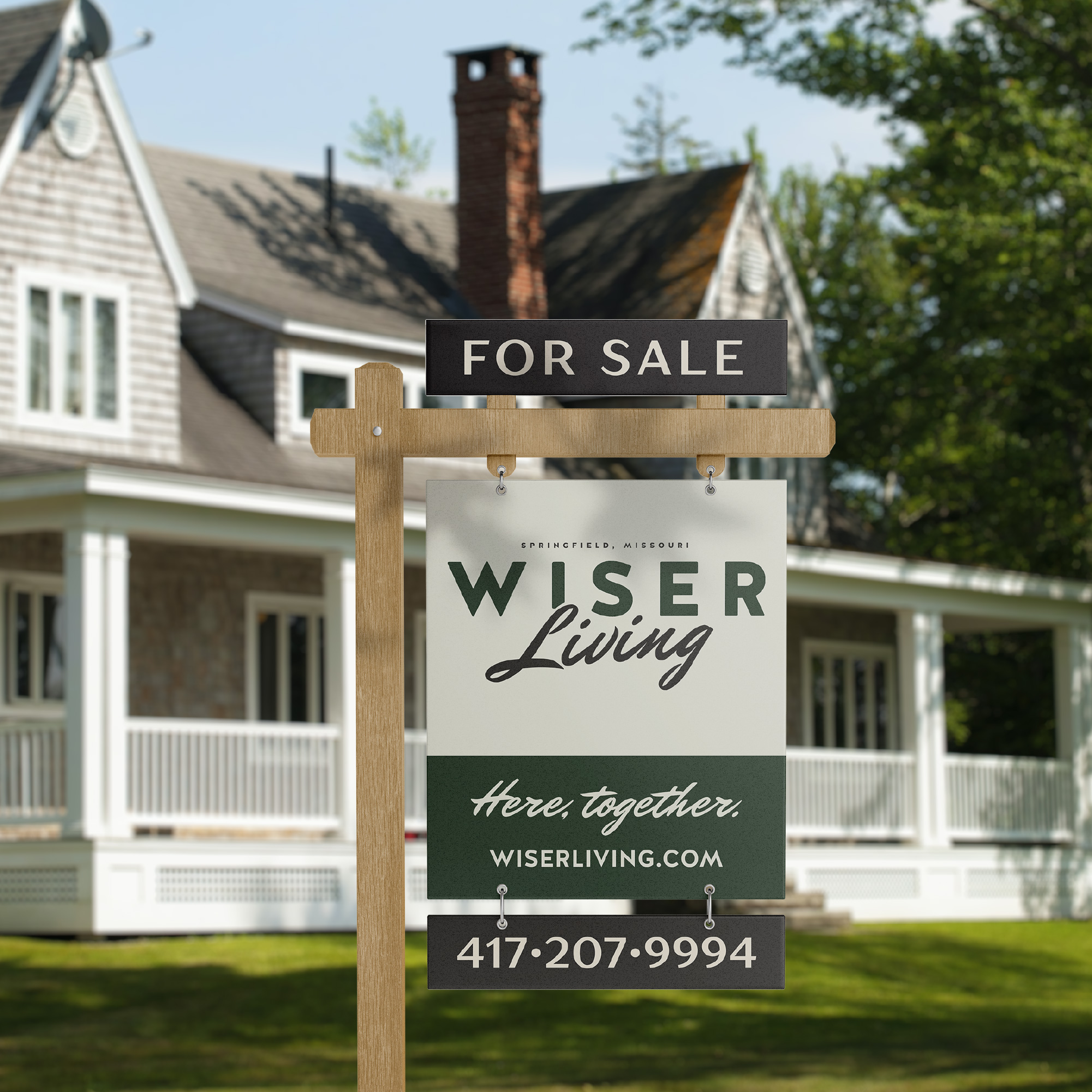 Wiser Living Realty Brand Design