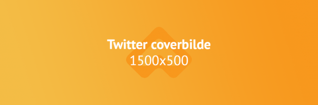 Twitter coverbilde bildestørrelse illustrasjon