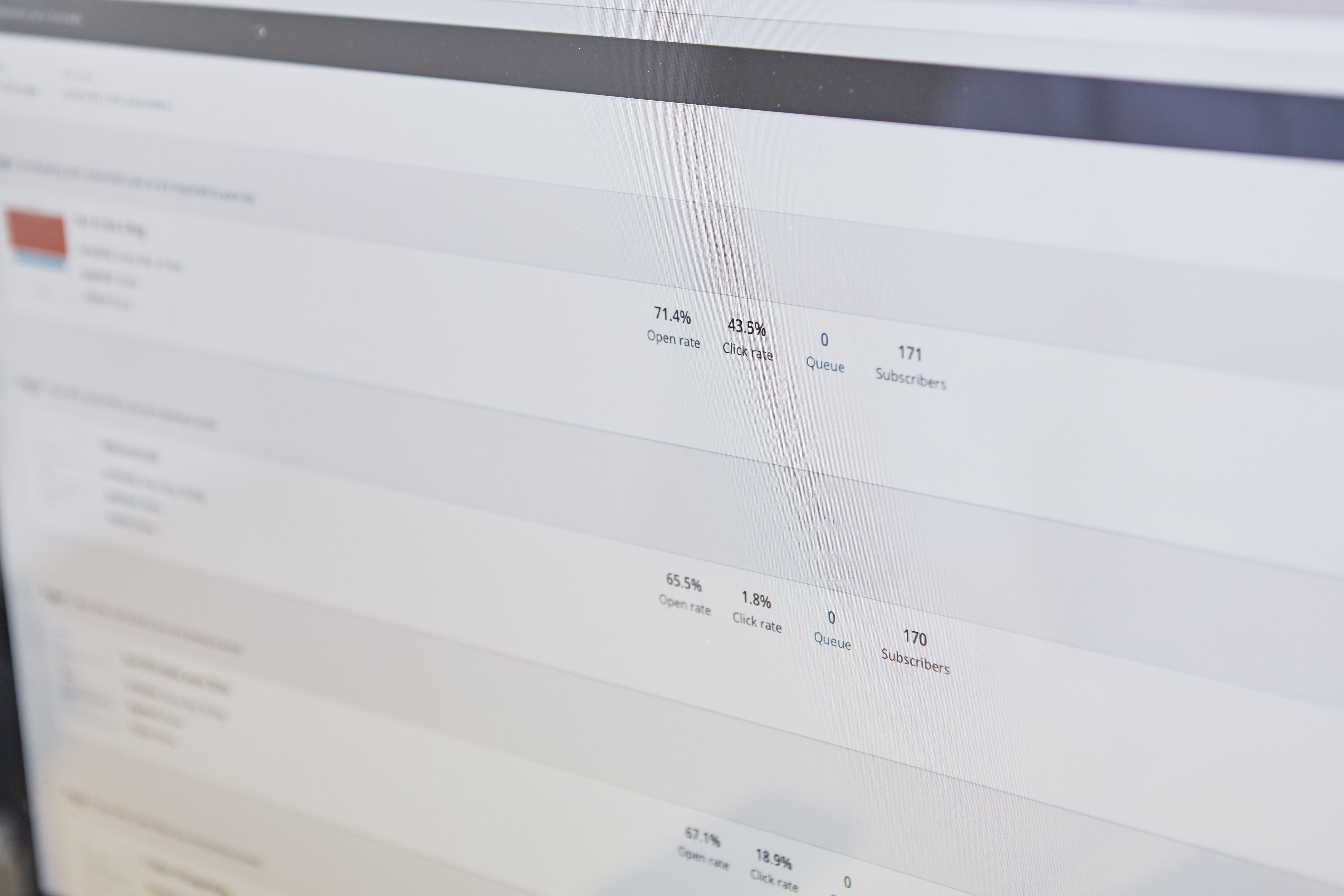 Der trackes rankings på en kundes hjemmeside