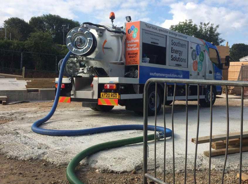 drainage vehicle