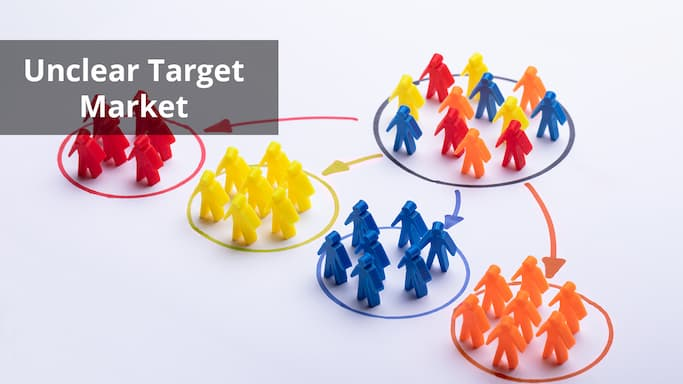 7 small business marketing mistakes - unclear target market