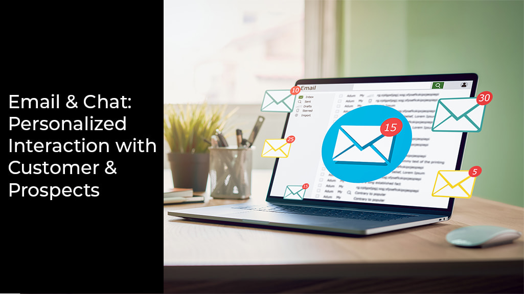 email and chat benefits of digital marketing