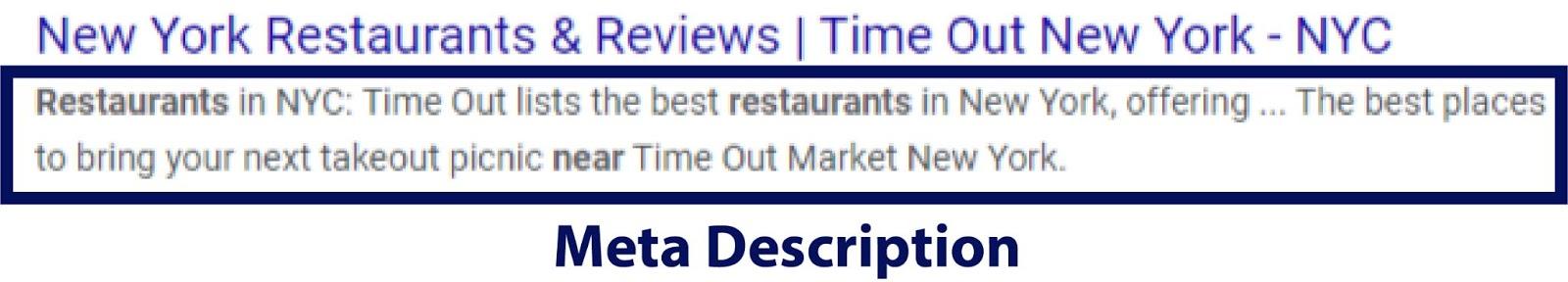 Small business SEO services meta description example