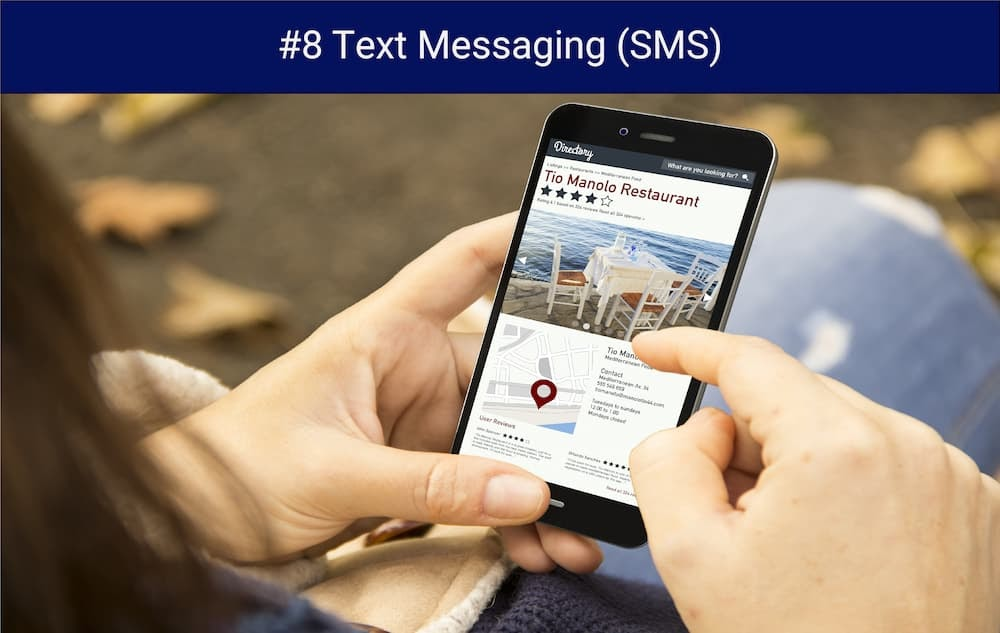 digital marketing for small business SMS marketing