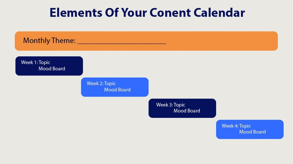 Use Facebook as Marketing Tool Small Business Content Calendar