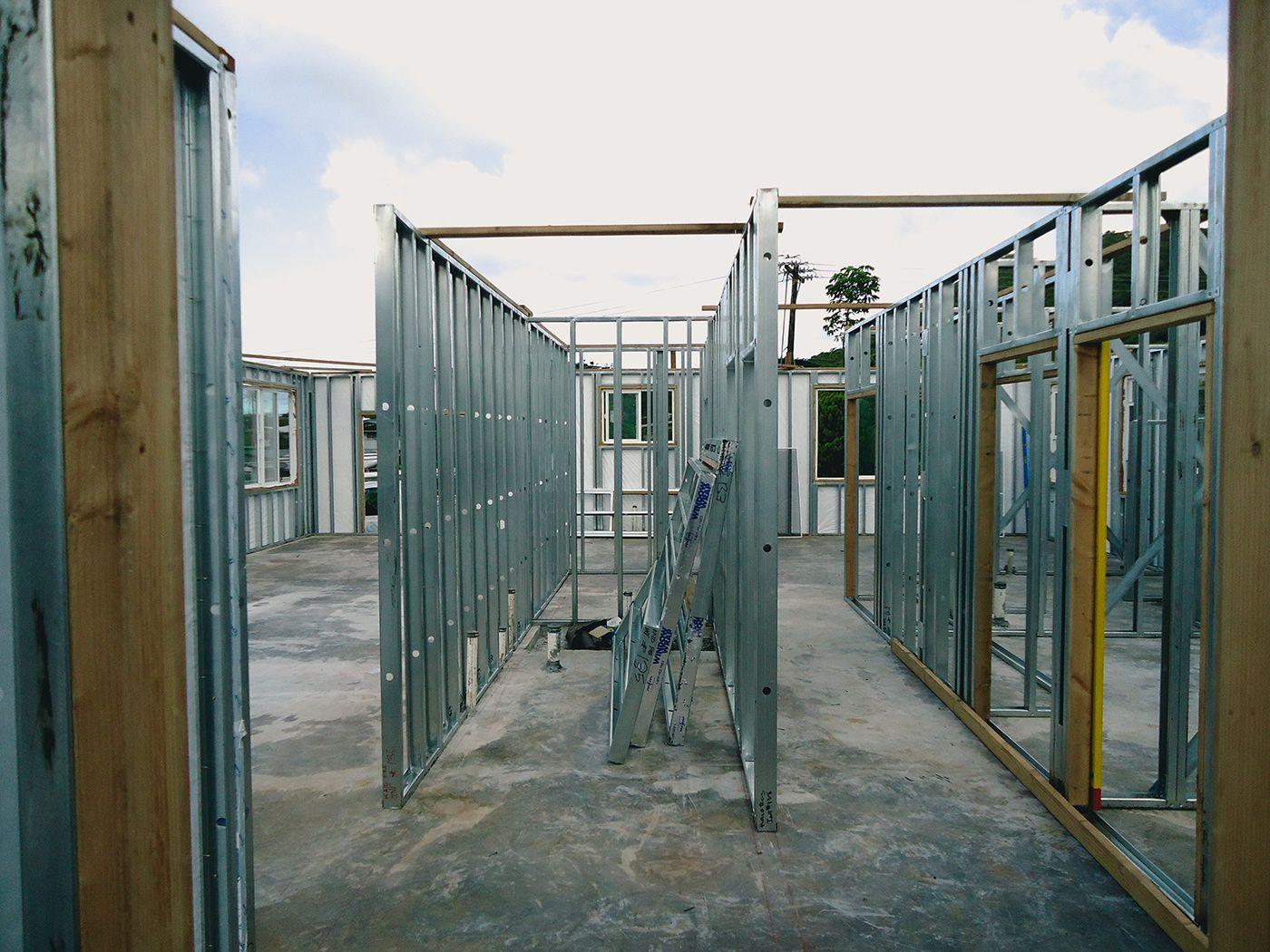 steel panel framing