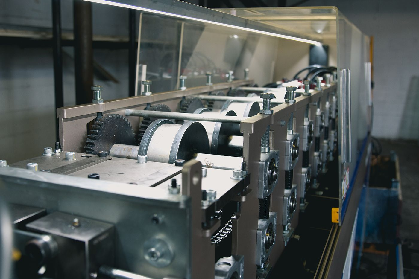 steel panel frame machine