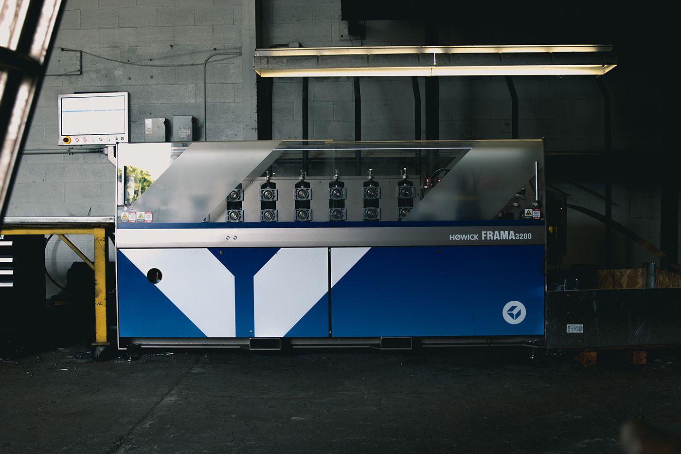 steel panel framing machine