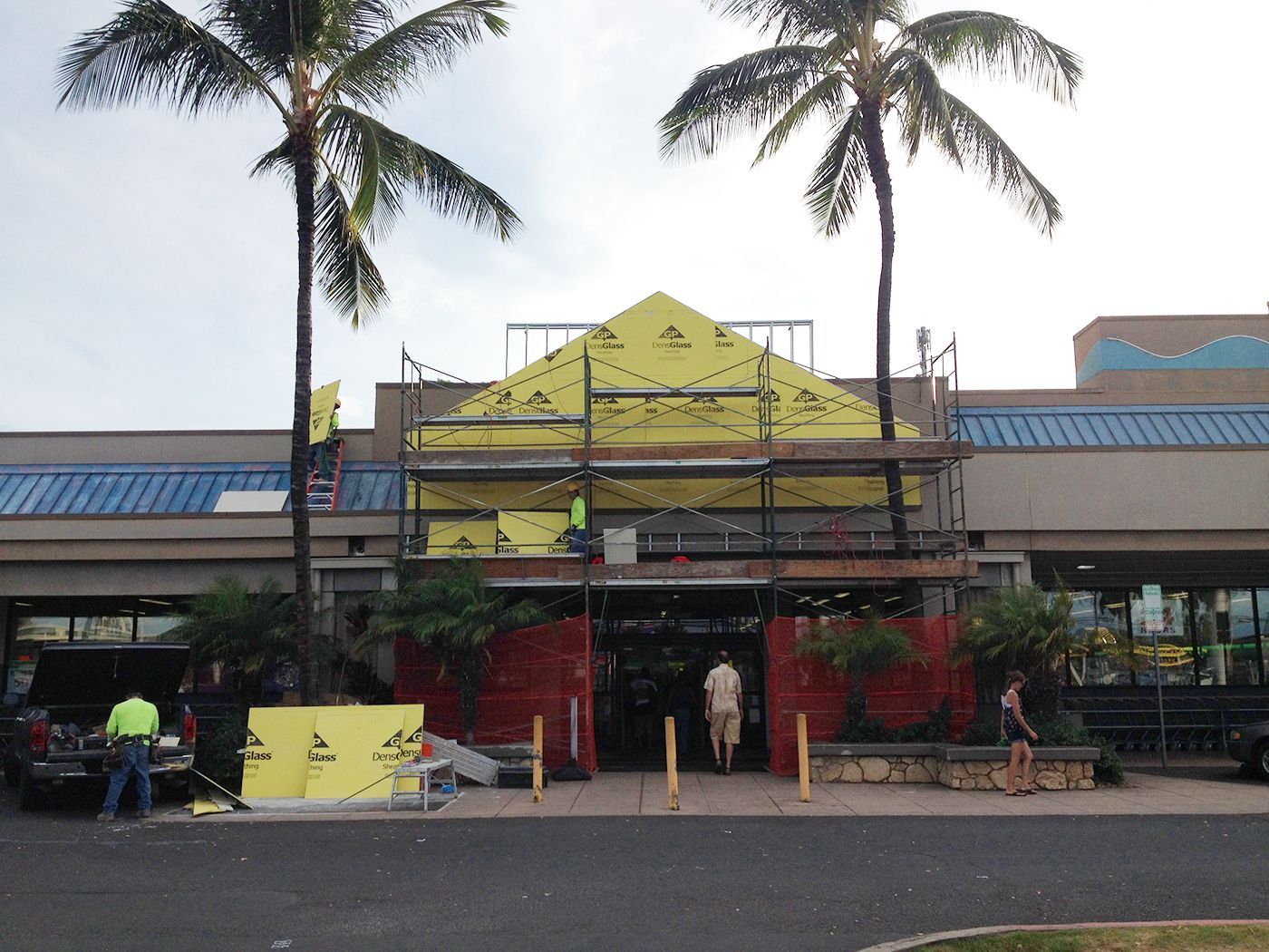 commercial construction project in hawaii