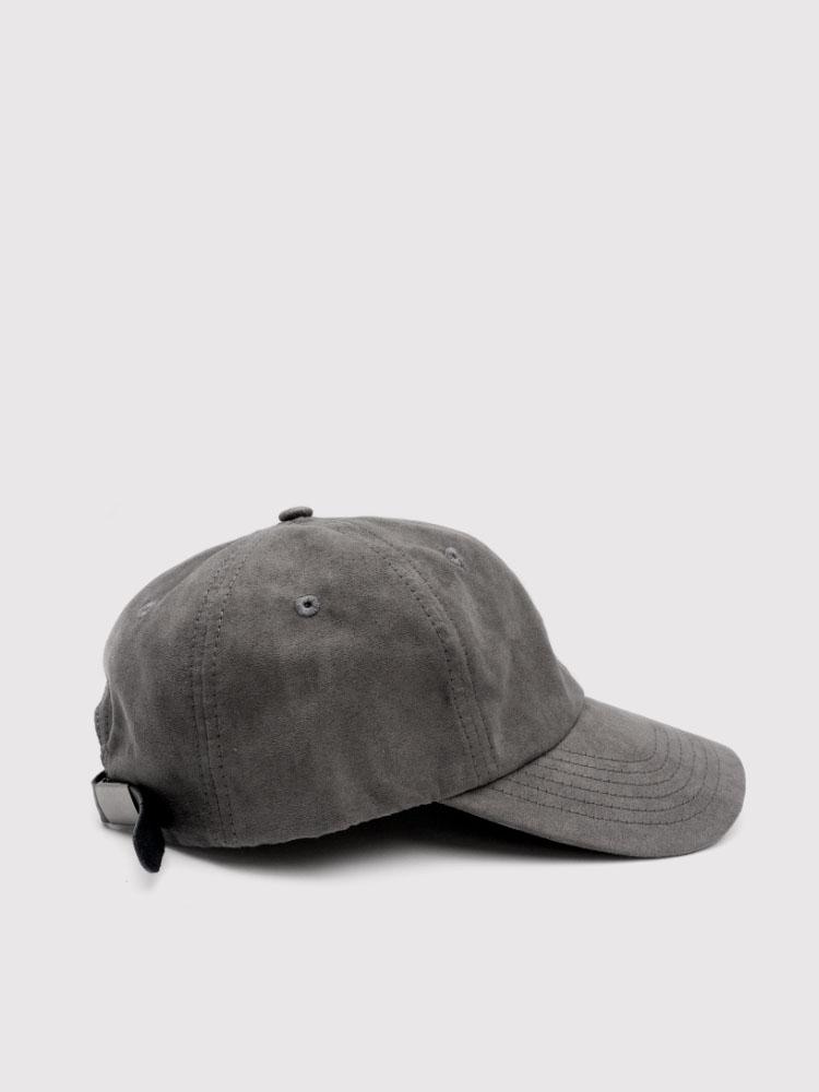 Suede Dad Hat - Dark