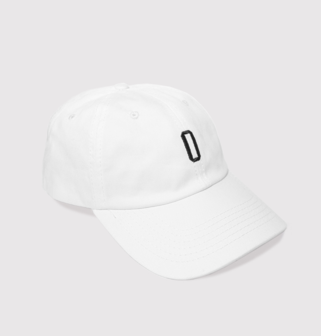 Dad Hat - White