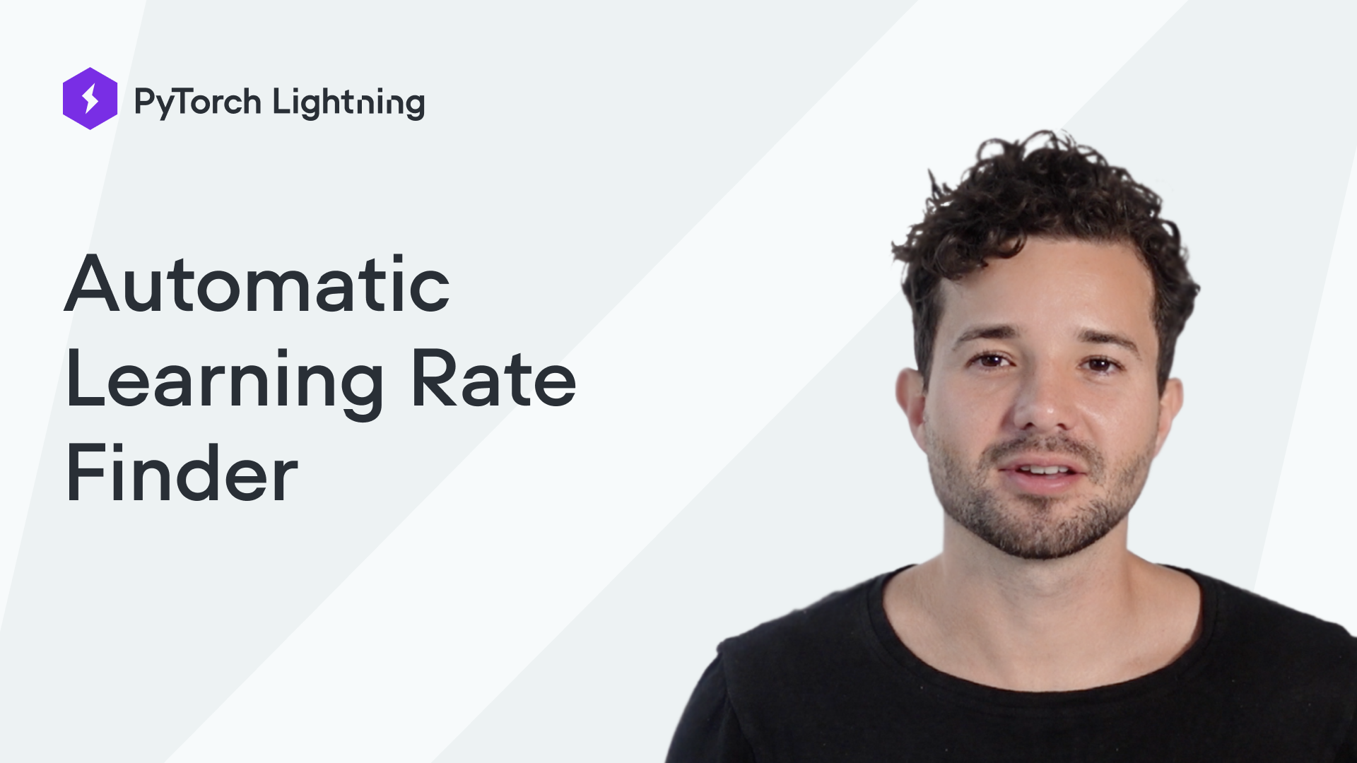 Automatic Learning Rate Finder
