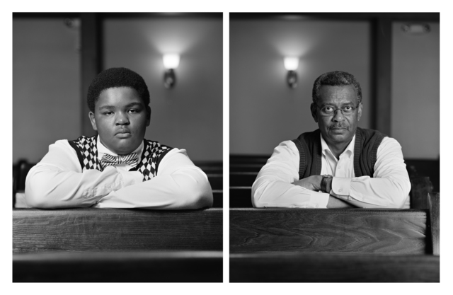 Dawoud Bey | The Birmingham Project: Trentin Williams and Willie Robinson  (2012) | Available for Sale | Artsy