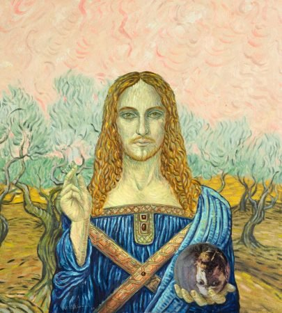 """Beltracchi's new project, which he titled """"The Greats"""", consists of multiple versions of Leonardo Da Vinci's Salvator Mundi. In total, Beltracchi will be selling 4,608 NFTs on the Ethereum blockchain. The NFTs will be on sale 5 days from the publication of this article. In another humorous poke at ownership, Beltracchi said that the buyers will not know which version of his Salvator Mundi they will get."""