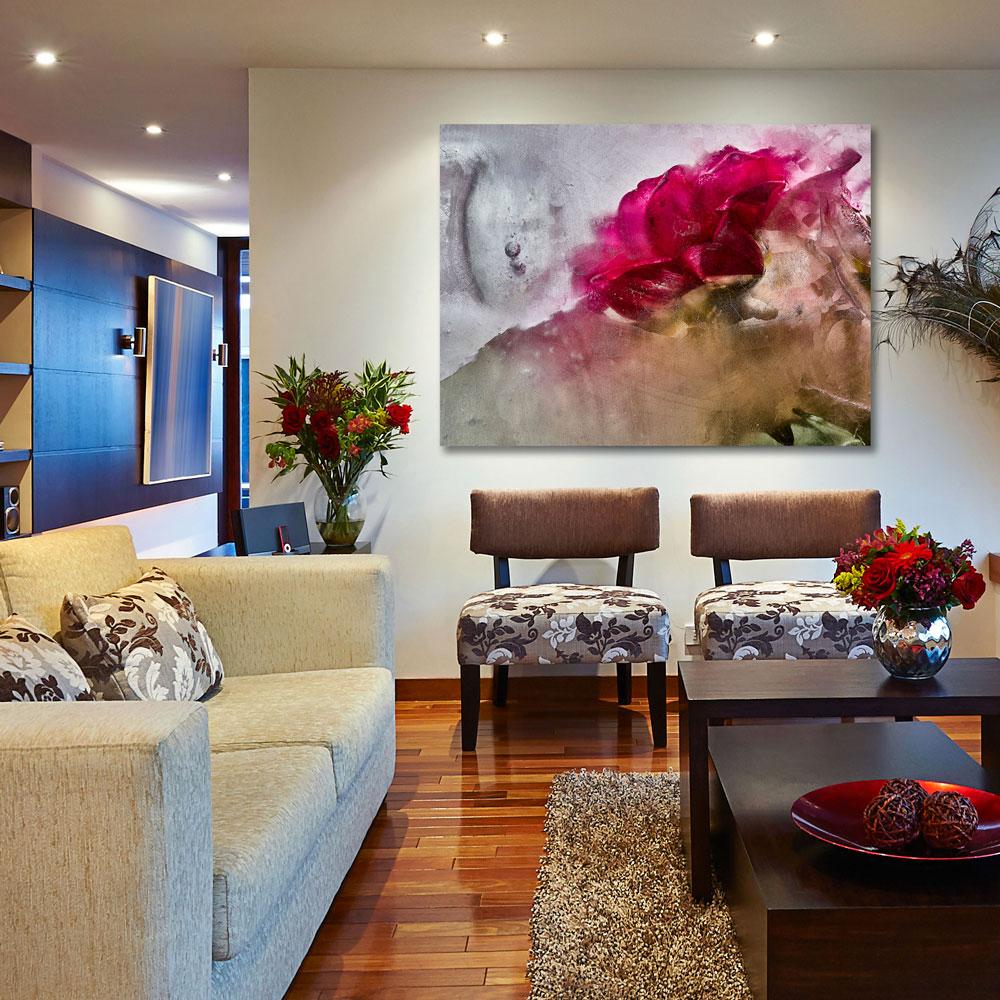 Hibiscus Flower Wall Art