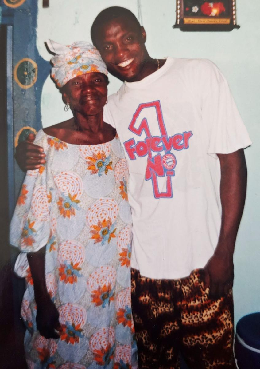 "N'Gawa whose name means ""Mother Hawa"" in the Susu language is, Alseny Yansane, our Co-founder and Artistic Director's Mom. She passed away on Wednesday, June 17th at 1 pm Conakry time."