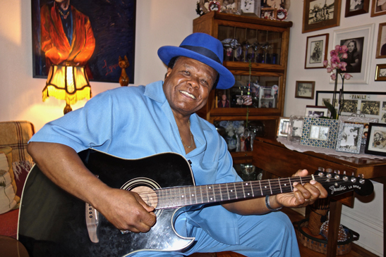 "Norman ""The Boogie Cat"" Sylvester (Portland) has aptly described himself as being ""totally dedicated to the soul healing force of music"" and when watching or listening to him, this is self-evident."