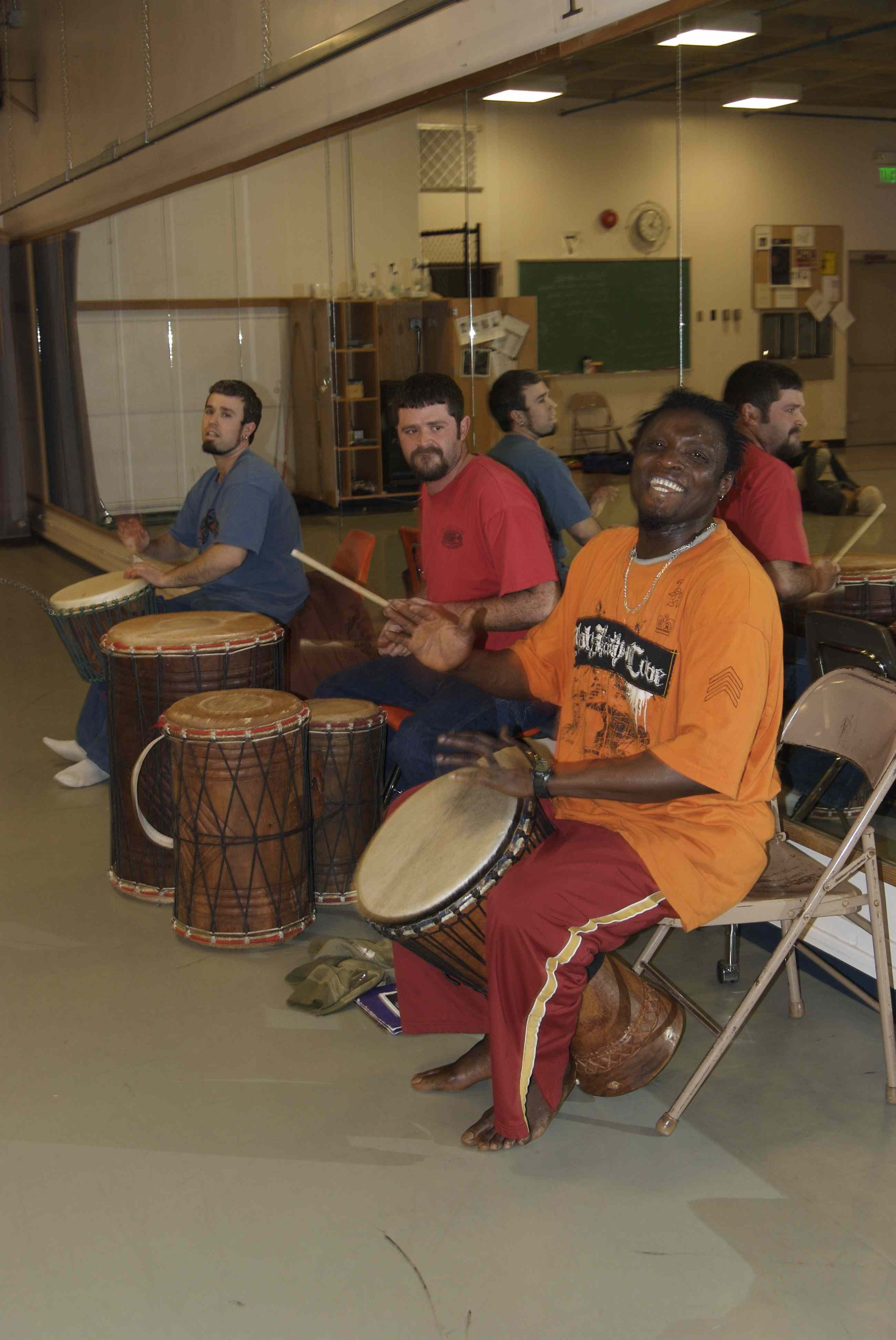 Many of you already know that drumming has many positive benefits, but in considering the tumultuous times we are in it seems important to count all the ways!