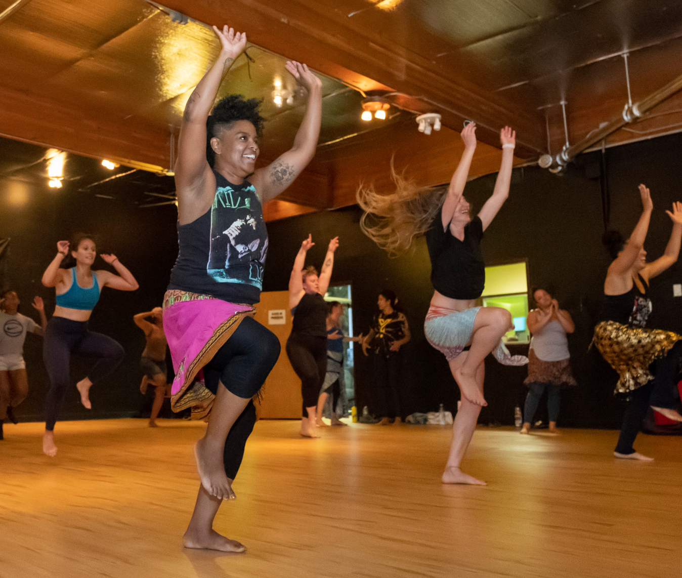 Dance classes in Eugene with WACAI