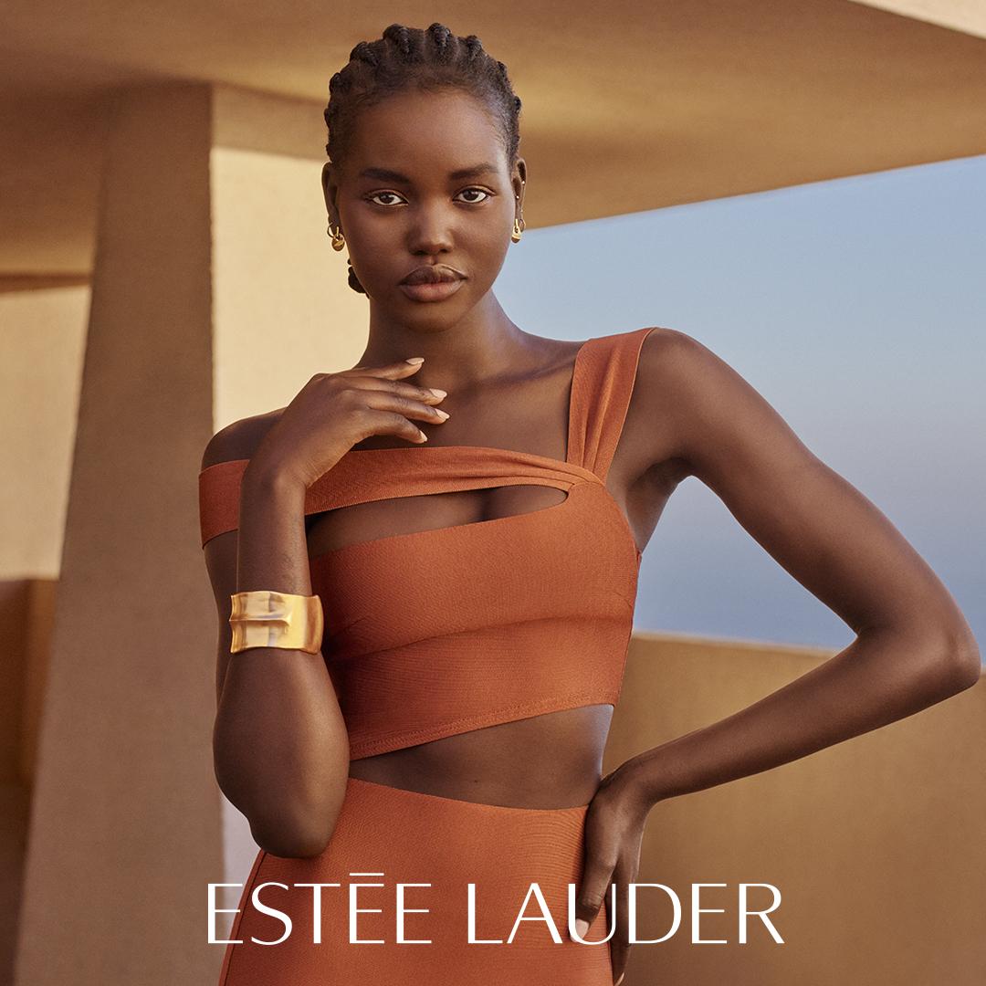 South Sudanese-Australian Adut Akech Debuts as Estée Lauder's New Global Ambassador