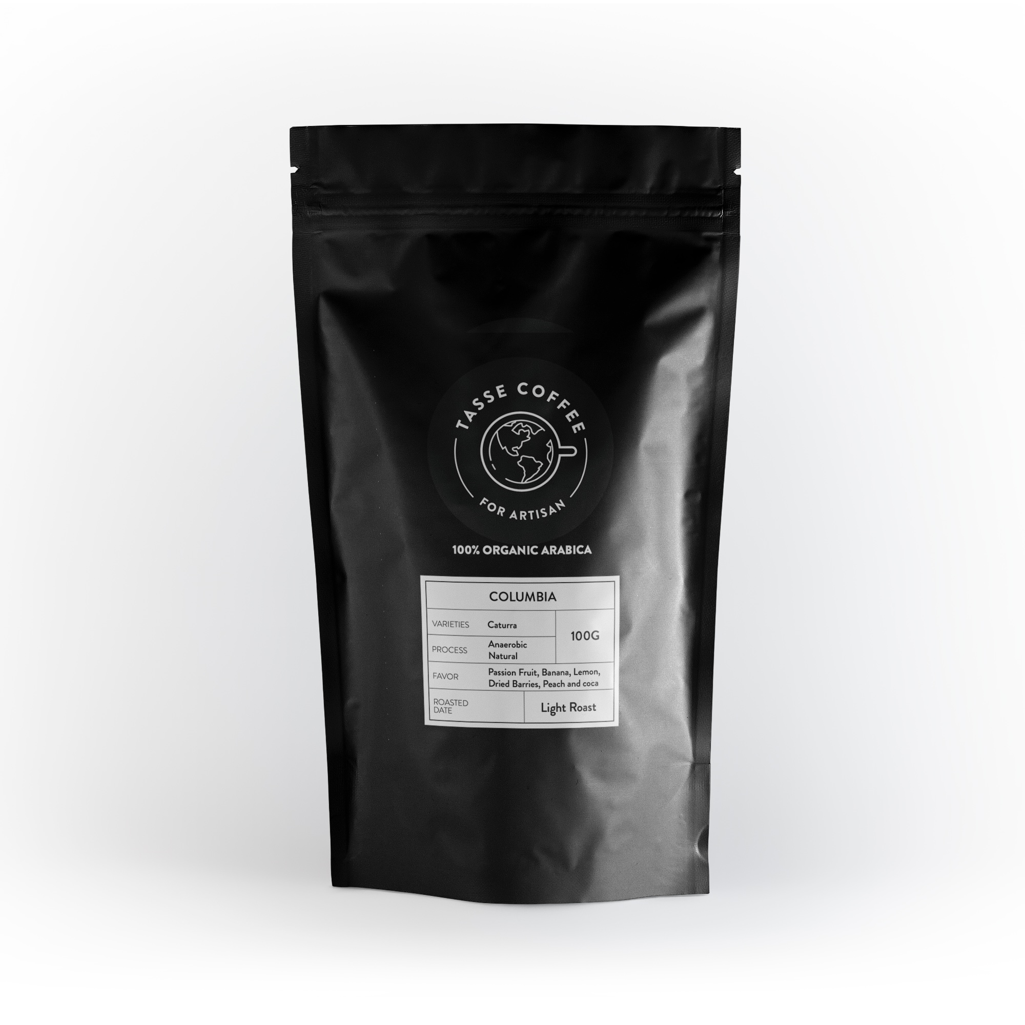 Tasse Coffee - Taiwan Roasted Specialty Coffee - Columbia Anaerobic Natural