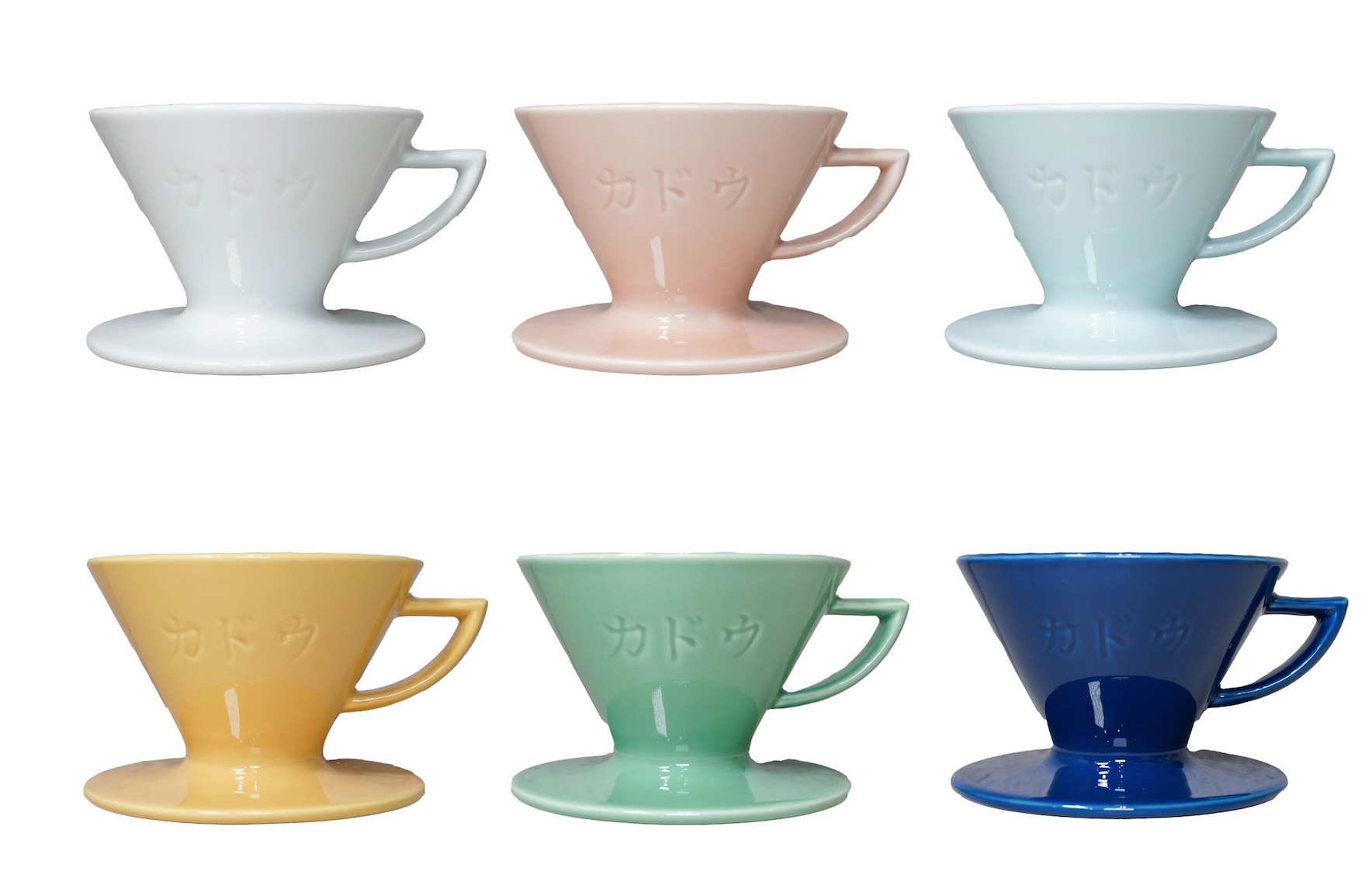 珈堂KADOU 日本製 星芒濾杯 M1 波佐見燒陶瓷 咖啡濾杯 (1-2杯)