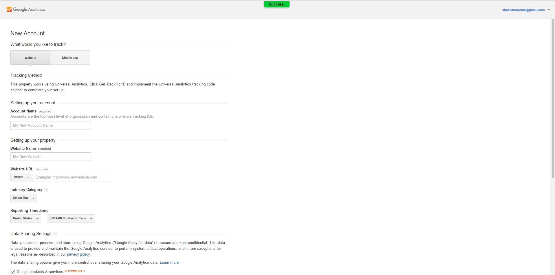 Website checkup: Setting up Google Analytics