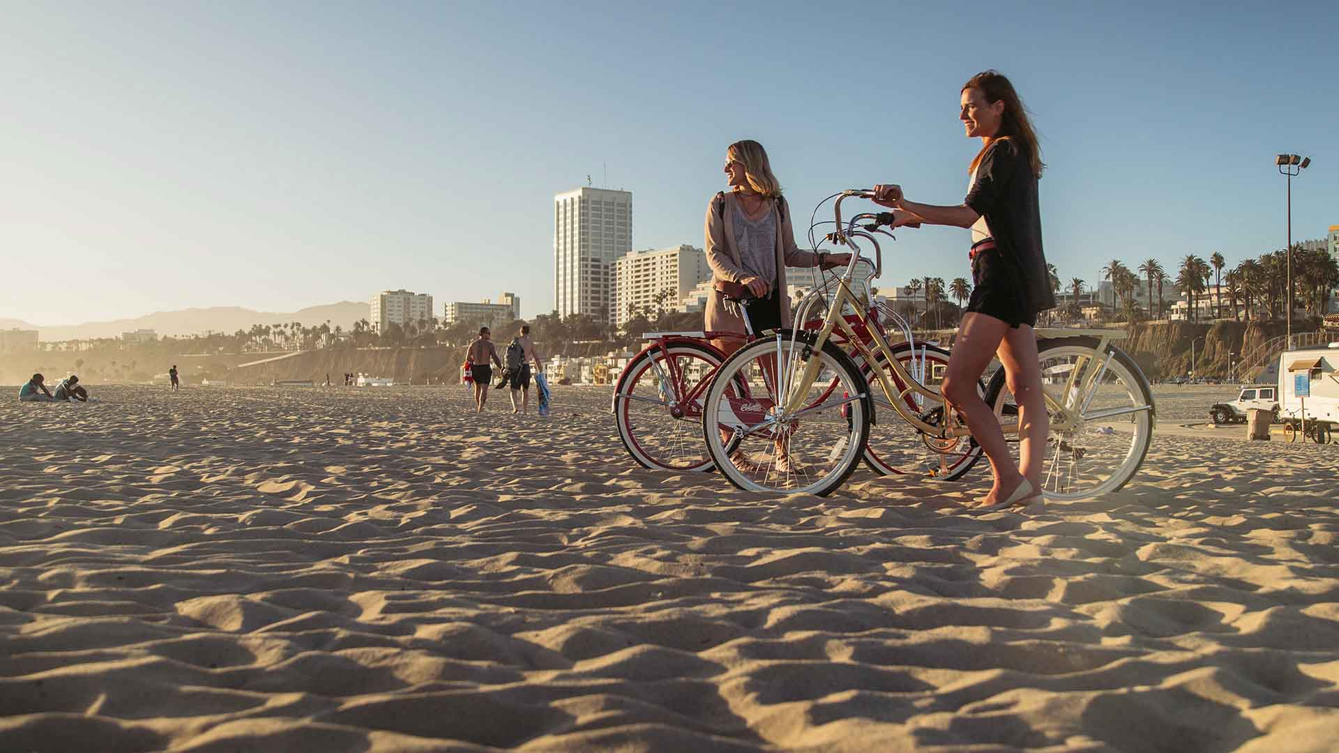 Columbia Bicycles Commercial Photography in Los Angeles
