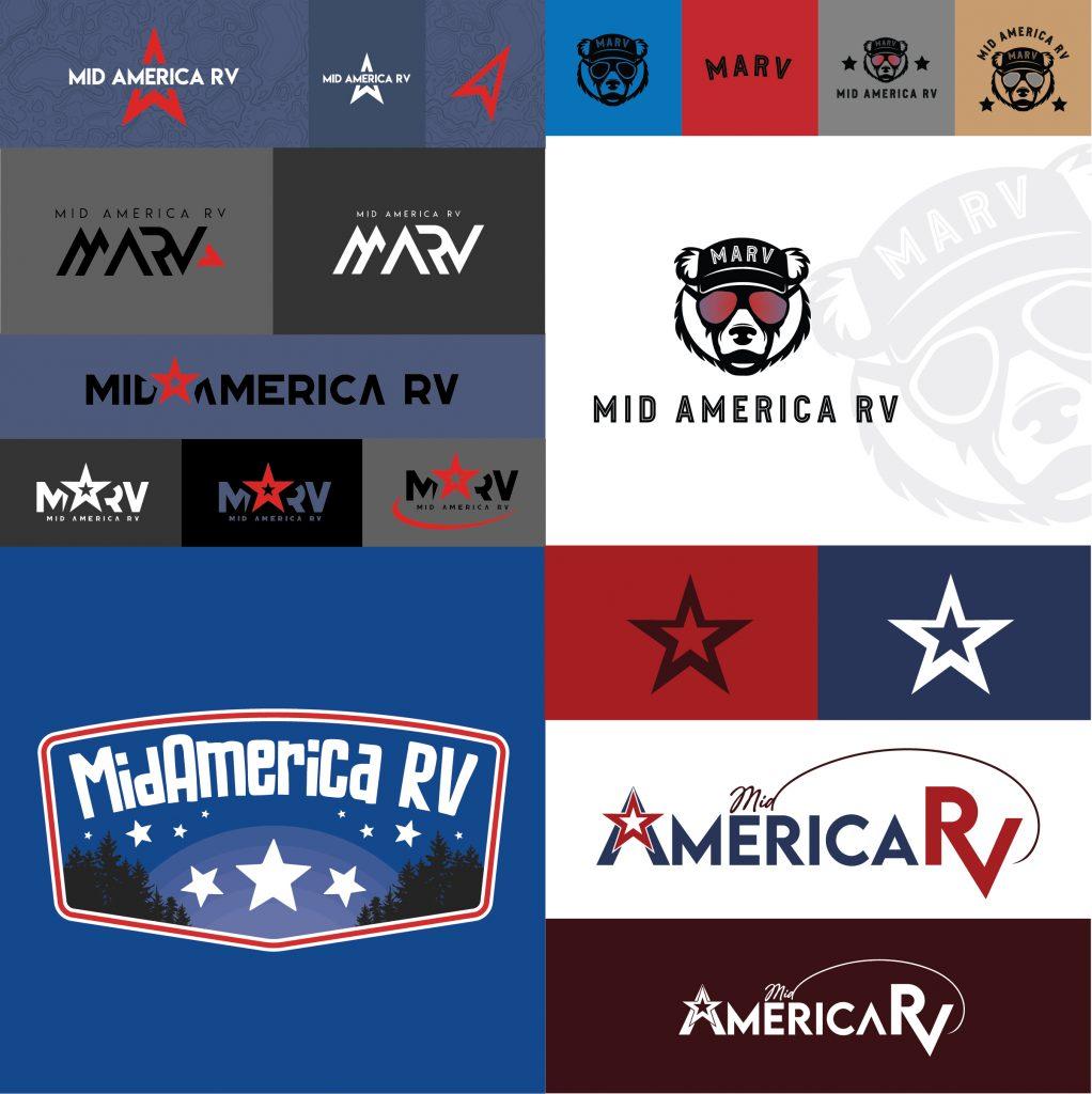 Branding the business of Mid America RV round 1