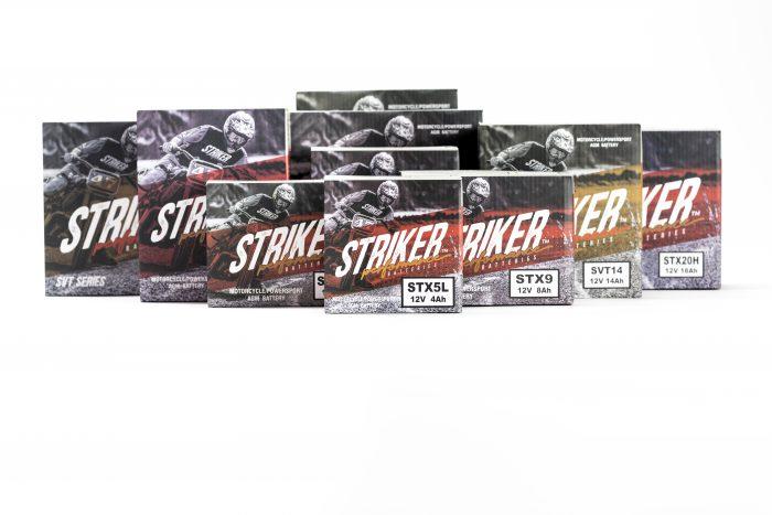 Striker Product Packaging