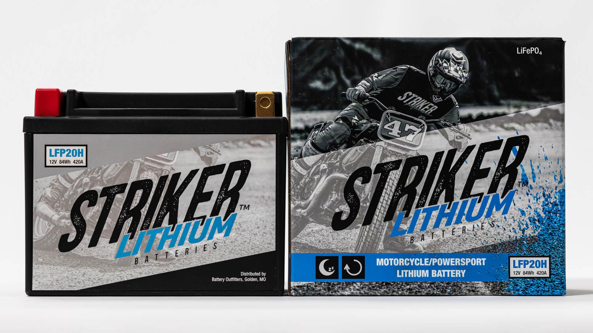 Striker Lithium Batteries Brand Development