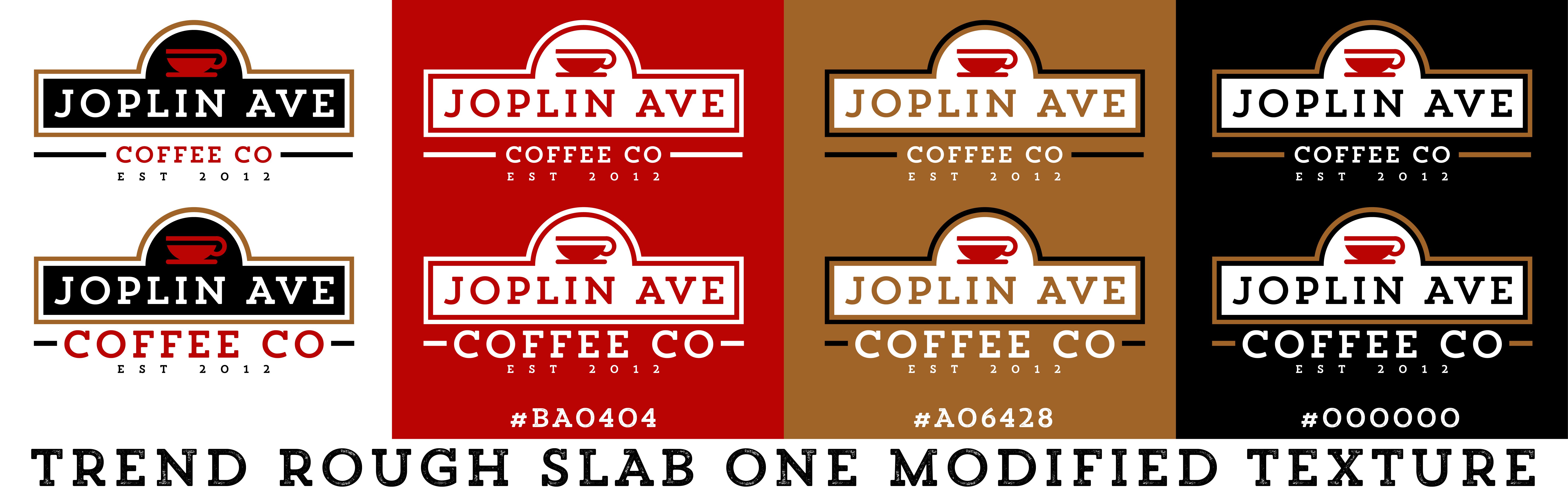 Joplin Avenue Coffee Company Logo Design Brand Development