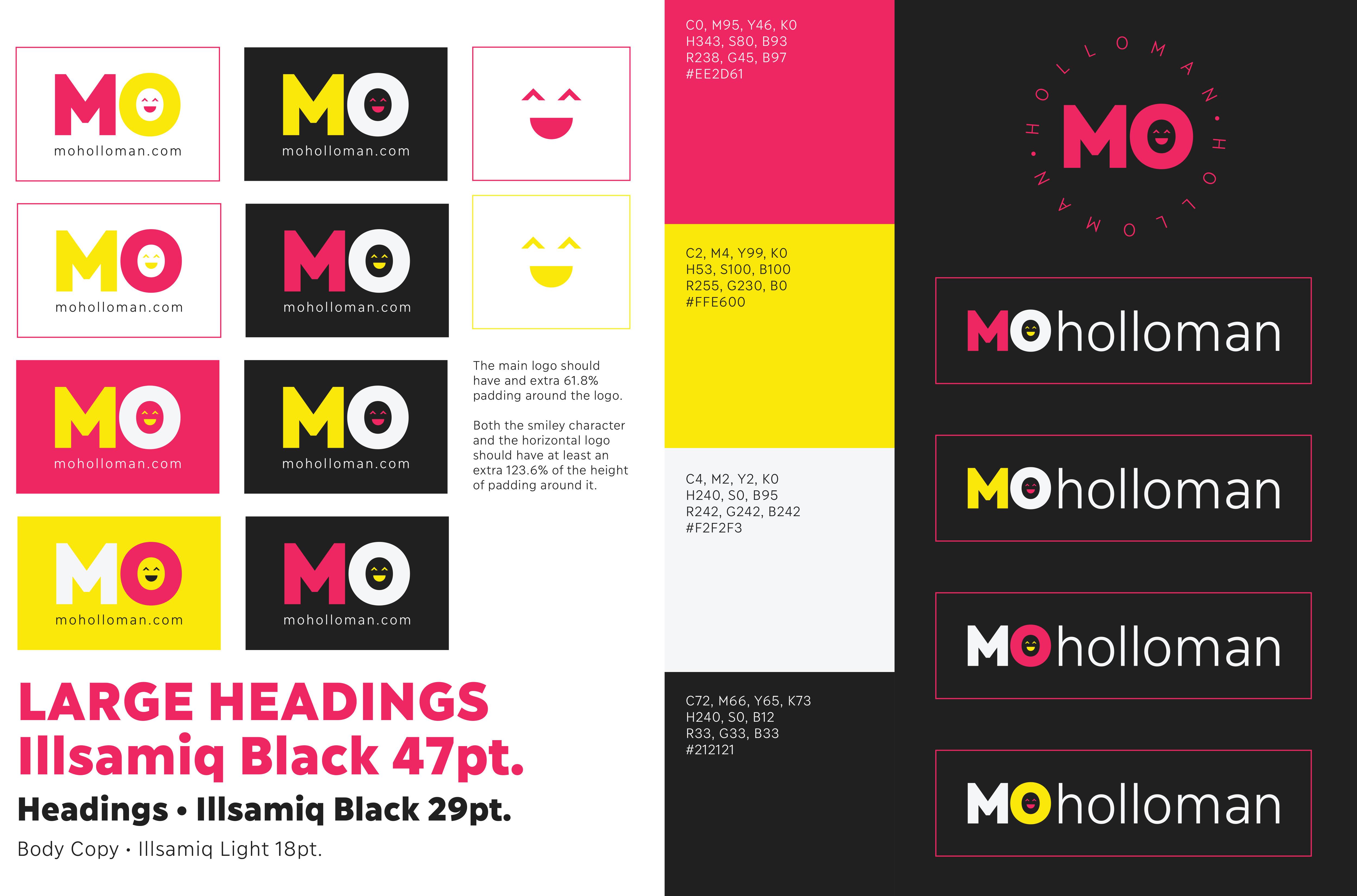 Mo Holloman Brand Development logo design Joplin Missouri